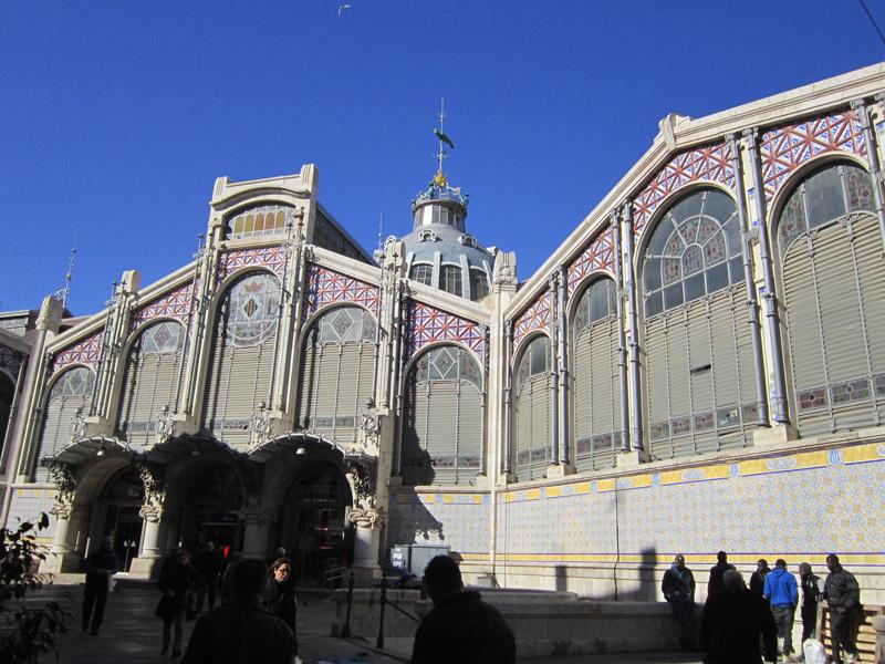 mercat central din Valencia