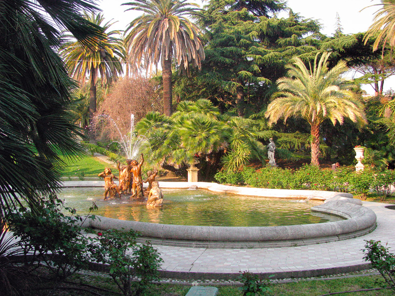 destinatii de vacanta Sanremo parcul Nobel